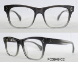 Het rechthoekige Optische Frame van de Acetaat van Frames voor Mensen met Eyewear (van Ce)