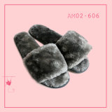 Ladies Winter Warm Indoor Soft Soft Toe Slipper