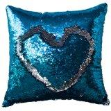 Federa d'argento blu della sirena del Sequin