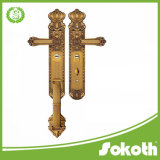 최고 제품 중국에 있는 Platemade에 자물쇠 /Zinc 레버를 가진 큰 문 손잡이