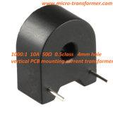 1000: 1 10A 50ohm PCB 0.5class die 4hole Huidige Transformator (ZMCT104A) opzetten