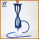 Mini narghilé di vetro elettronico di Shisha del vaporizzatore del tubo di acqua di Cigarett della nuova struttura di disegno