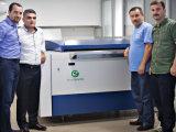 De Ecoographix ordenador de alta velocidad automáticamente para platear (CTP) la máquina para la impresión en offset