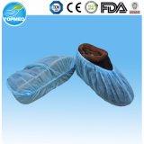 Cubierta del zapato no tejida, cubierta de zapatos antideslizante, cubierta de zapatos PP