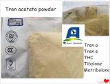 Trenboloneのアセテートの粉の黄色の同化ステロイドホルモン新しい貯蔵されたCAS: 10161-34-9