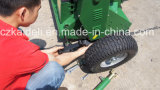 Cortacéspedes vendedor caliente del mayal de 13HP/15HP ATV con la rueda en la cara y la parte posterior