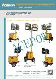 beweglicher mobiler Generator der Zylinder-10kw 2