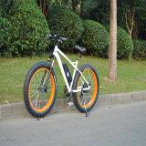 bicicleta elétrica da montanha gorda do pneu 500W