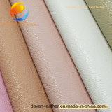 Heißes verkaufendes synthetisches Leder für Kleid mit dickflüssigem Schutzträger