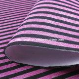 Tecido de espaçador elástico com poliéster e composição de Spandex