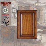 고품질 마호가니 목제 부엌 문 내각 디자인 (GSP5-017)