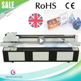 Impressora Flatbed com Cmyk + W Seiko Print Head