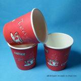Papel desechable de café de cristal / Taza desechable de papel / Desechables Papel de vidrio