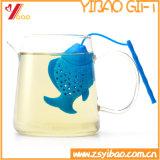 Чай Infuser/мешок силикона формы рыб качества еды изготовленный на заказ