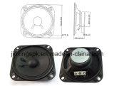 диктор металла черного квадрата 100mm 4-16ohm 1-5W