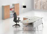 Самомоднейший стол менеджера просто конструкции офиса дела изогнутый (HF-BSA02)