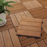 建築材料の中国の製造者木連結の床タイル