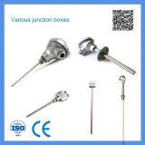 Vari tipi di uso industriale di sensori di temperatura di resistenza termica e della termocoppia