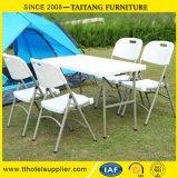 Présidence se pliante de HDPE de meubles de jardin d'événement de Tableau en plastique