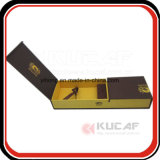 Empaquetado de encargo de la cartulina del rectángulo de regalo de la insignia