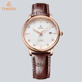 Reloj de acero inoxidable de alta calidad automático de lujo de los hombres del reloj 72303