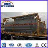 20FT/40FT ISO Recipiente Tanque corrosivos 20FT/40FT/químico líquido ácido HCl contentor