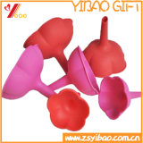 Caoutchouc de silicone de haute qualité Ketchenware Customed entonnoir (YB-HR-131)