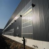 Taller prefabricado, edificio de acero del almacén, estructura de la estructura de acero de edificio de acero