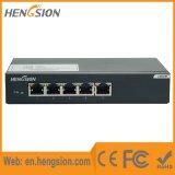 Interruptor de rede Ethernet não gerenciado de 5 portas Gigabit