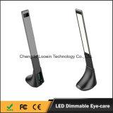 Auge-Sorgfalt LED Schreibtisch-Lampe, faltbare LED-Tisch-Lampe, Nachttisch-Lampen mit USB-nachladbarer Tisch-Lampen-Portleselampe mit Energien-Bank