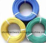 Fio revestido obrigatório revestido PVC da alta qualidade Wire/PVC da fábrica com fio galvanizado interior do ferro