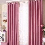 Tissu solide de rideau en arrêt total de polyester pur moderne de type (11F0009)