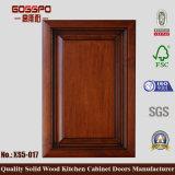 Portello di legno solido dell'armadio da cucina di disegno del portello della cucina (GSP5-002)