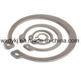 Anello di conservazione della molla dell'acciaio inossidabile per l'asta cilindrica