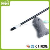 綿の魚猫の棒猫のおもちゃ