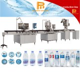 Chaîne de lavage de la bouteille 3 in-1 automatique, de remplir et recouvrir liquide de production