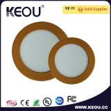 Bridgelux 7500k panneau LED encastré plafond AC85-265Ra>80 V
