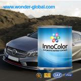 L'automobile peinture métal couleur argent