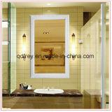 Blocco per grafici decorativo della foto/specchio della parete di legno antica