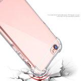 Caisse d'armure transparente claire de TPU et de PC pour l'iPhone 7/6s/6