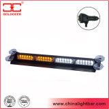 Montaggio indicatore luminoso ambrato e bianco di 12V della tazza di aspirazione del LED della visiera