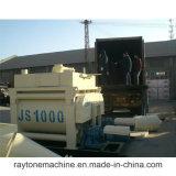 Js1000対シャフトの具体的な混合機械コンクリートミキサー車