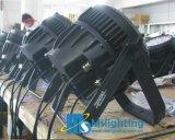 三色12*3in1 RGB + 6UV LEDの壁の洗濯機ライト/LEDの同価64防水IP 65