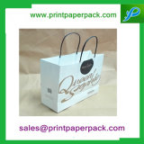 Forte Cor impresso Kraft Twisted Handle Paper Carrier Bags Loja / Gift / Fashion / Party Bags