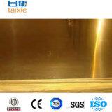 Piatto d'ottone di rame di Cc382h per strumentazione elettrica Cn1
