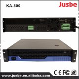 Jusbe Ka-800 8 Kanaal 120With8ohm van de Interface RS485 van 200With4ohm de Professionele AudioVersterker Van verschillende media van de Luidspreker