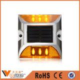 Seguridad en carretera Plástico LED Road Stud ABS Reflectante Road Stud
