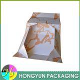 Empacotamento de papel de dobramento feito-à-medida da caixa de presente