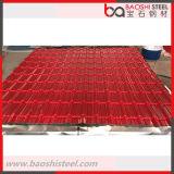 0.12-2.0mmの熱い浸された電流を通された金属の鋼鉄屋根瓦