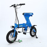 Bici eléctrica del doblez del rango de 60 kilómetros